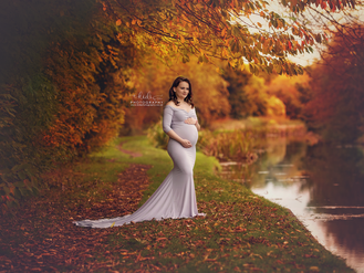 Loredana's maternity session. Outdoor photography