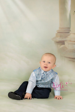 Christening photo shoot in Walsall