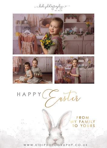 Easter Mini Session Card - Kidi kartka k