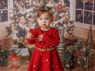 Lily's christmas mini session
