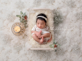 Riya and her newborn photo session. Walsall