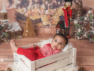 Ekam's Christmas mini session