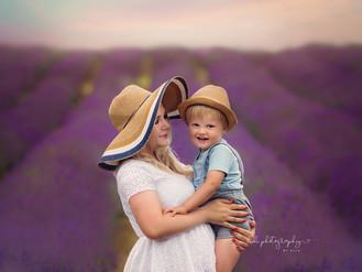 Marta and Filip. Lavender mini session 2019.