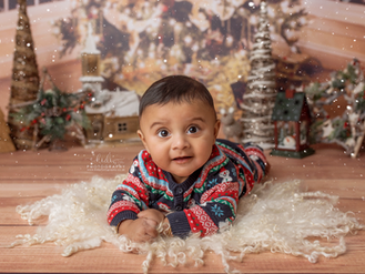 Veeran and Zora's Christmas session