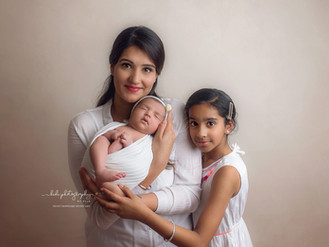 Baby Avaani and her photo session.