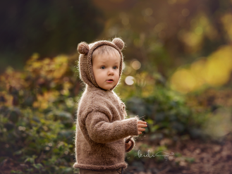 Teddy Bear mini session. Outdoor photo session