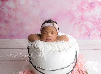 Tiny Model. Newborn photo session. Walsall