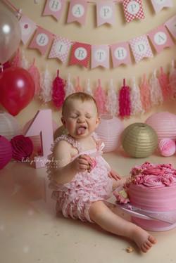 Cake smash photo session Walsall
