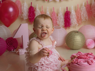 Aurora's first birthday. Professional photographer Walsall