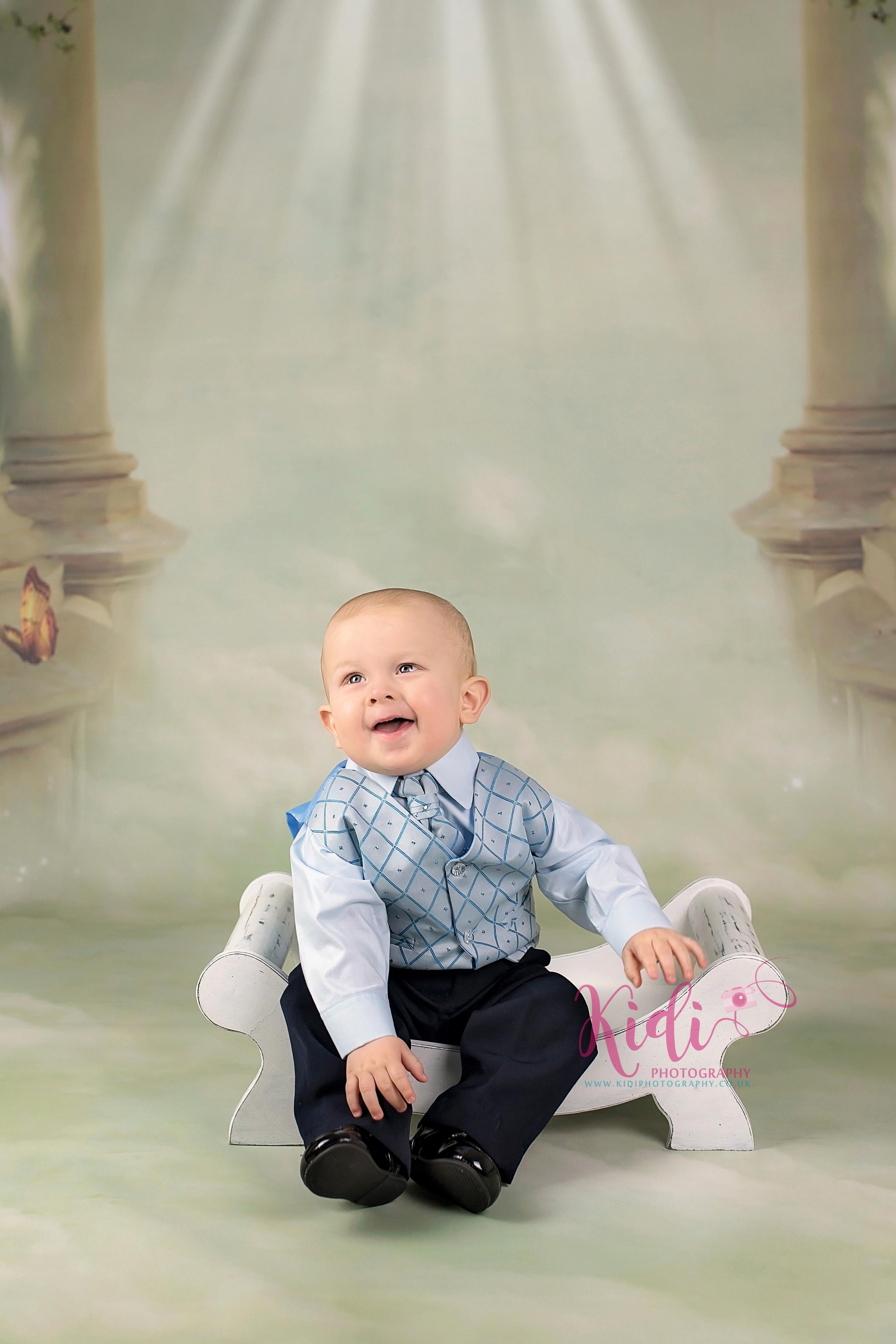 Christening photo shoot