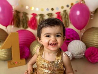 Beautiful Aryana and her birthday session