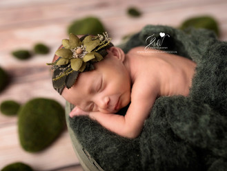 Amazing Anastasia and her newborn photo session
