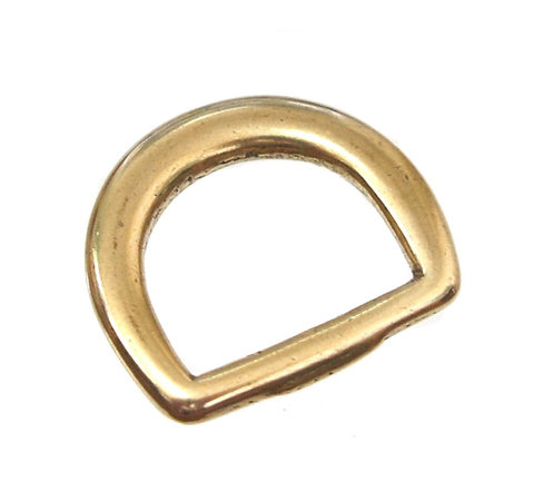 10pcs Wholesale / 23mm width D Ring [ A-Type Brass ] Smoky Sumi's Store
