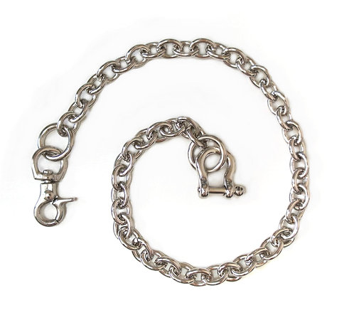 Wallet Chain [ Oval 2.2mm x 45cm / Nickel ] Smoky Sumi's Store