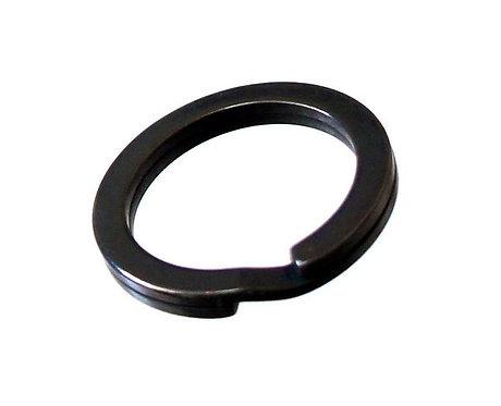 27mm Flat Split Ring [ Matte Black ] Smoky Sumi's Store