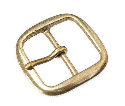 40mm Square Round Buckle [ Brass ] Smoky Sumi's Store