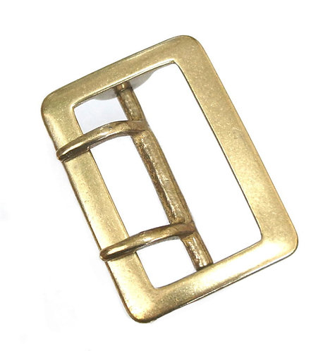 Bulk 10pcs / 50mm Rectangle W Tongue Buckle [ Brass ] Smoky Sumi's Store