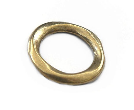 29mm Twist Ring [ Brass ] Smoky Sumi's Store