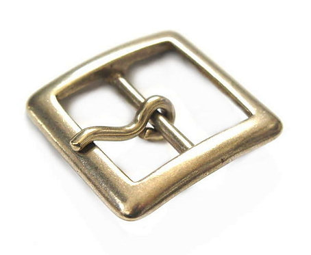 30mm Square Buckle [ Brass - Single ] Smoky Sumi's Store