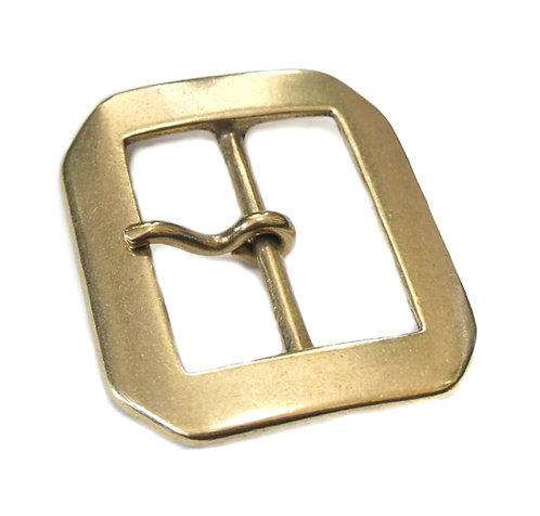 40mm Octagon Buckle [ Brass - Single ] Smoky Sumi's Store