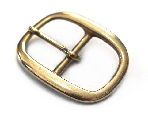 38mm Oval Buckle [ Brass ] Smoky Sumi's Store