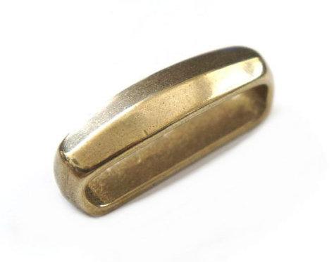 35-40-45mm width Belt Keeper Loop [ Brass ] Smoky Sumi's Store