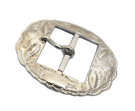 10pcs Wholesale 35mm Indian Pattern Oval Buckle [ Nickel ] Smoky Sumi's Store