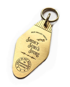 Key Tag ( Brass )