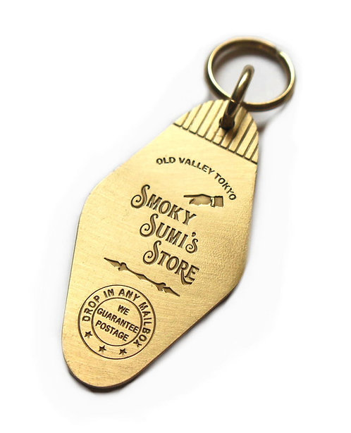 Key Tag ( Brass  ) / Smoky Sumi's Store