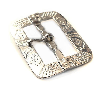 10pcs Wholesale 41mm Indian Pattern Rectangle Buckle [ Nickel ] Smoky Sumi's Store