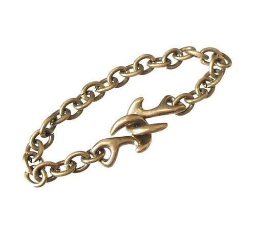 SasoRi Double Anchor Bracelet [ Oval ]
