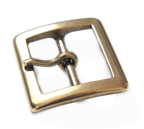 34mm Square Buckle [ Brass ] Smoky Sumi's Store