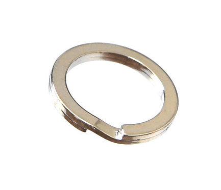 27mm Flat Split Ring [ Nickel ] Smoky Sumi's Store