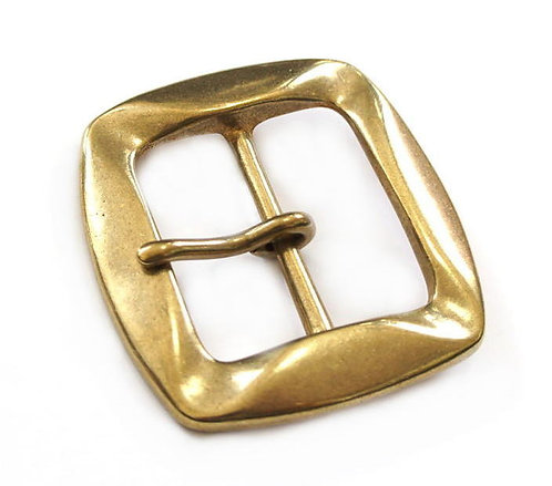 39mm Corrugated Buckle [ Brass ] Smoky Sumi's Store