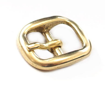 14mm Oval Small Buckle [ Brass ] Smoky Sumi's Store