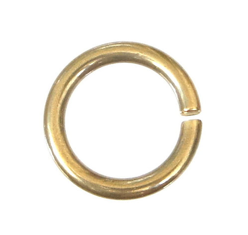 Bulk 10pcs / 15-18-21mm Diameter Circle Ring [ Brass ]