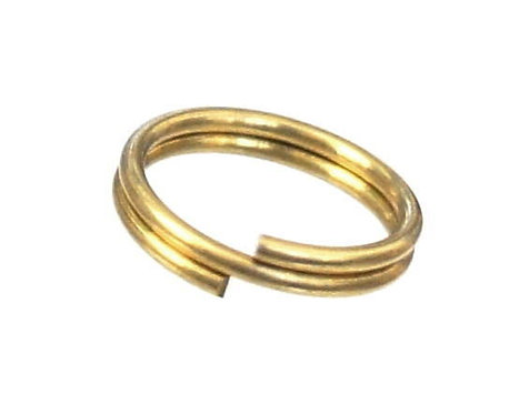 14mm Diameter Wire Double Ring [ Brass ] Smoky Sumi's Store