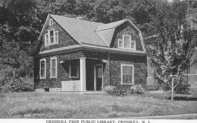 Cresskill Free Public Library, Original Building