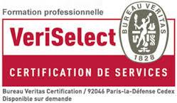 "Certifié ""VeriSelect Formation"""