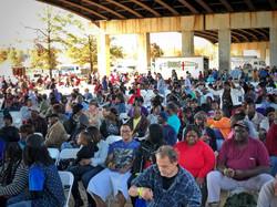 Crowd Shot Thanksgiving