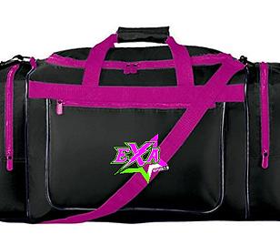 Pink and Black EXA Gym Bag