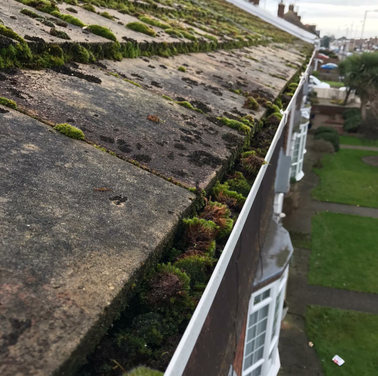 gutter cleaning in thanet before