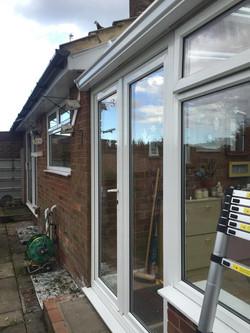 window frame clean window cleaner