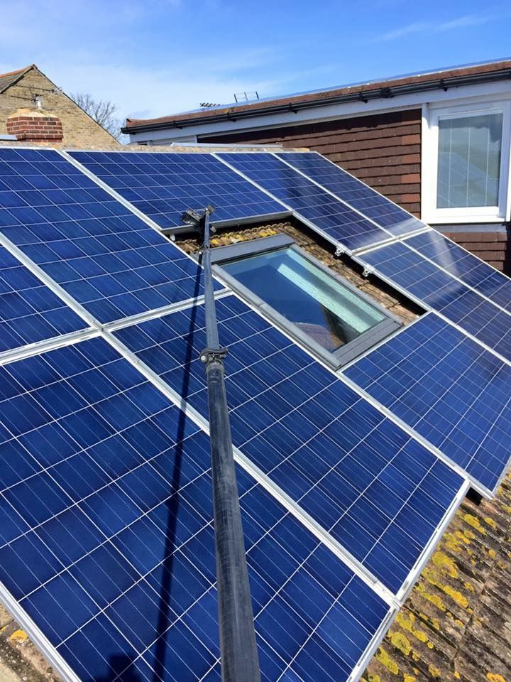 Thanet Solar Panel Clean