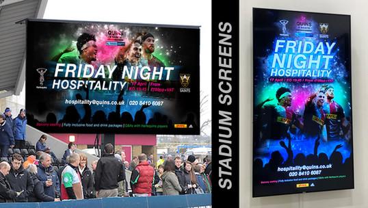 IPTV - stadium screens