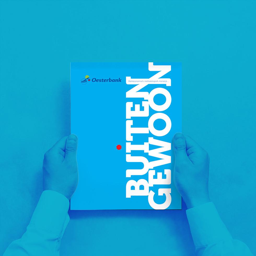 Cover corporate brochure
