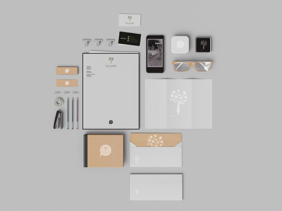 Corporate identity - Uw Levensverhaal