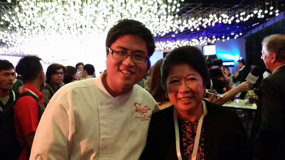 Chef John With Indonesian Minister For Tourism