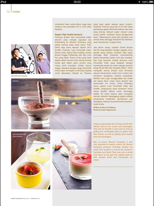 Bakery Magazine Indonesia