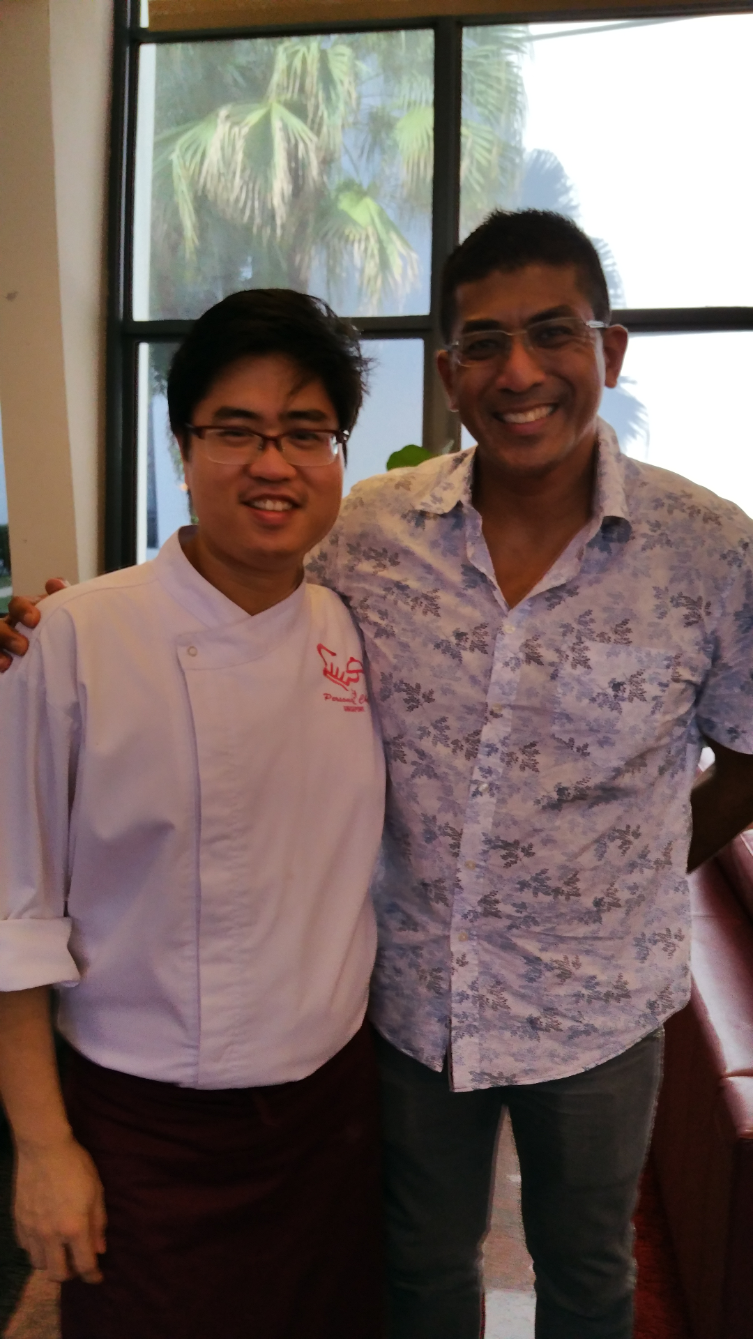 Chef Sawarto With MP Darryl David
